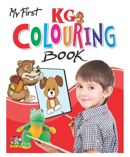 My First Colouring Book Kindergarten Level - English