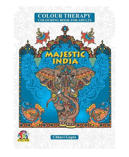 Tricolor Books Colour Therapy Majestic India