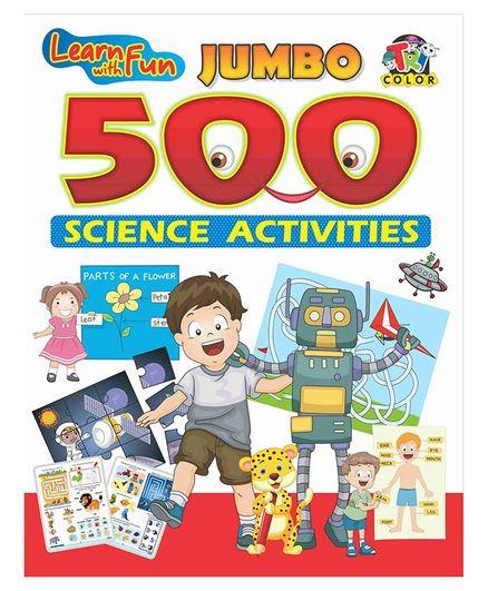 Jumbo Science Activity Book - English