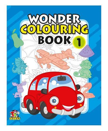Wonder Colouring Book 1 - English