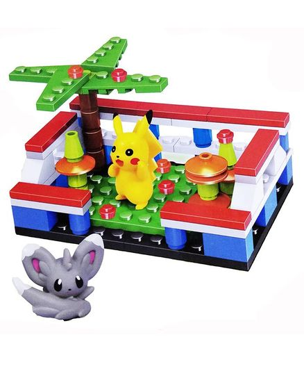 Emob Pokemon Theme Building Set - 68 Pieces