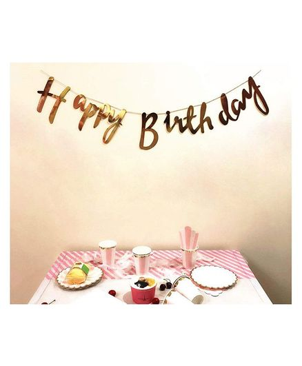 amfin happy birthday banner with name for birthday party gold online