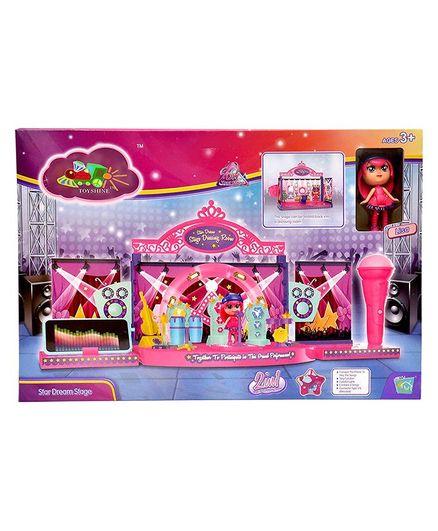 Toyshine Diy Rock Party Dressing Room Doll House Toy
