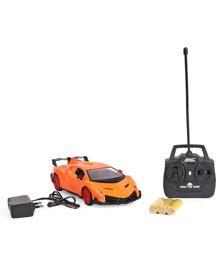 Dr. Toy Simulation Remote Control Chargeable Car - Orange
