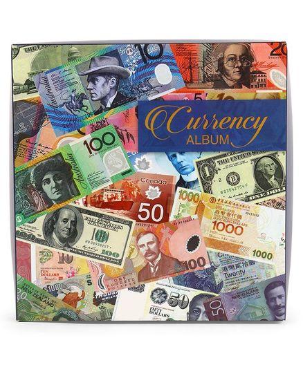Archies Currency Album - Multicolour