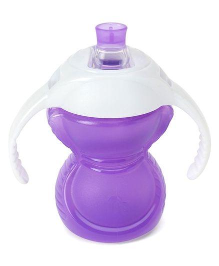 Munchkin Bite Proof Trainer Cup Purple - 207 ml