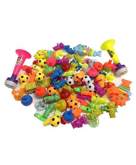 Party Propz Birthday Accessories Multicolour - 80 Pieces