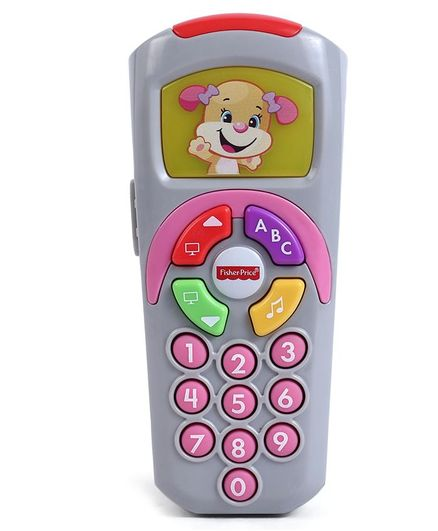 Fisher Price Musical Remote Toy (Color May Vary)