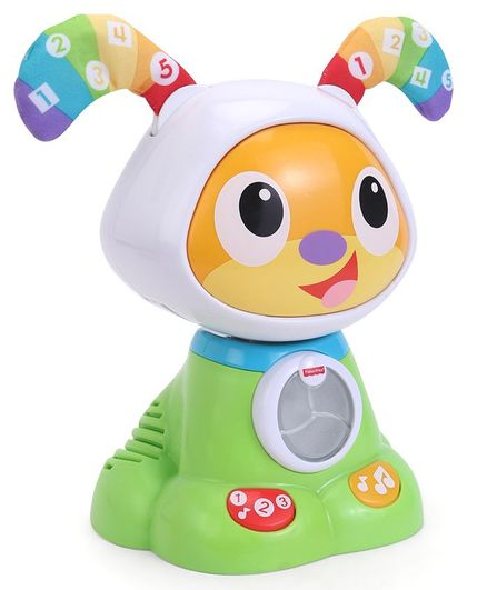 Fisher Price Dancing Beat Bark Puppy - Green