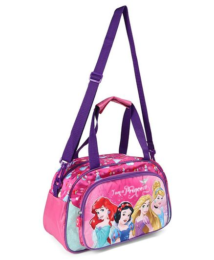 Disney Princess Duffle Bag Pink & Purple - Height 8.2 inches