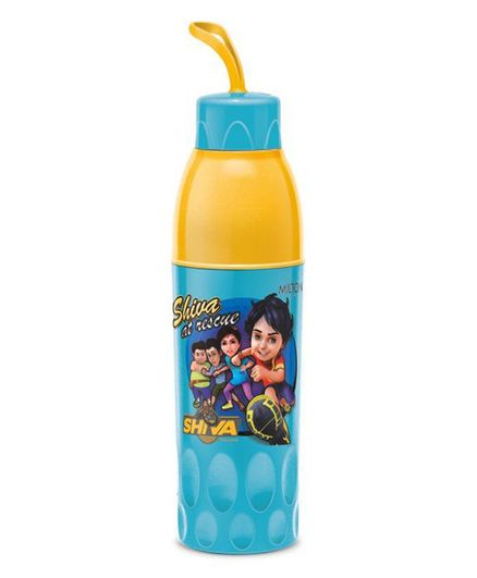 Milton Shiva Water Bottle Blue & Yellow - 740 ml
