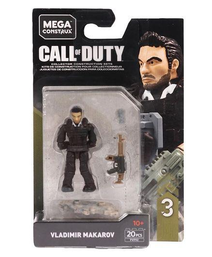Fisher Price Mega Bloks Call Of Duty Vladimir Makarov Black 20