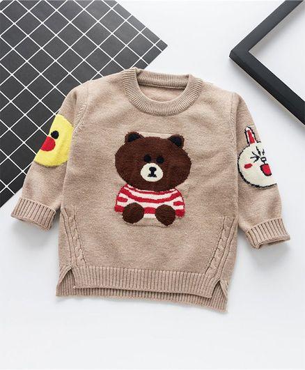 Awabox Teddy Bear Sweater - Beige