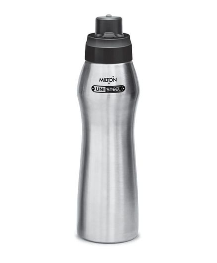 Milton Active Unisteel Water Bottle Silver - 750 ml