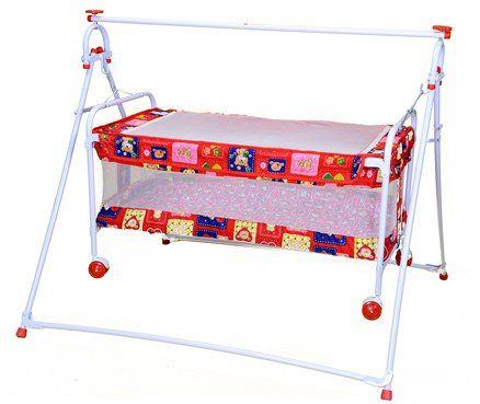Mothertouch Bear Print Baby Cradle Cum Bassinet