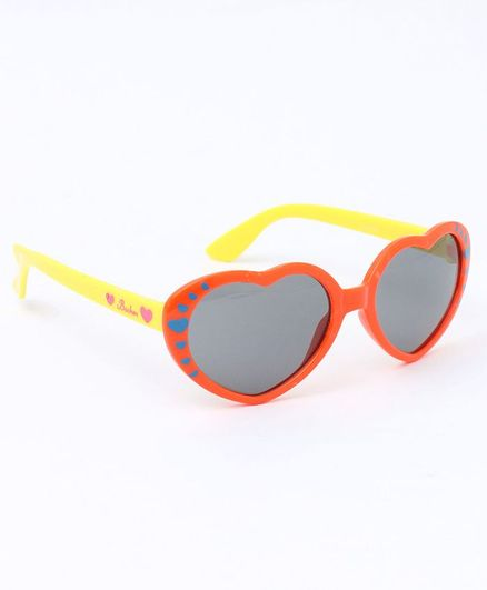 c4094ce9523 Babyhug Heart Shape Sunglasses Orange for Girls (3-10 Years ...