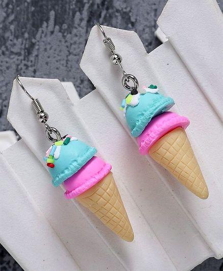 Babyhug Ice Cream Shape Earrings Multi Color