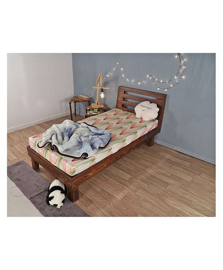 Arcedo William Bed - Dark Brown