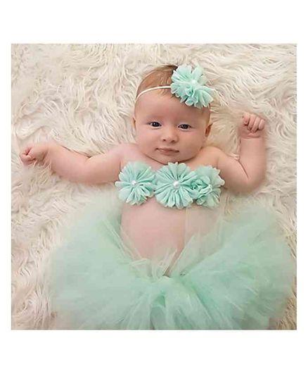 Babymoon Princess Tutu Outfit Pack of 3 - Light Green