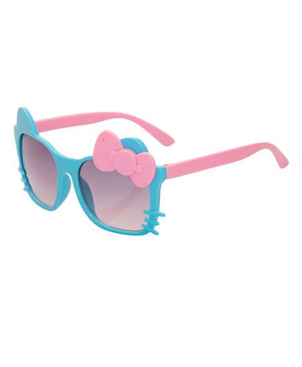Kidofash Bow Cat Sunglasses - Blue