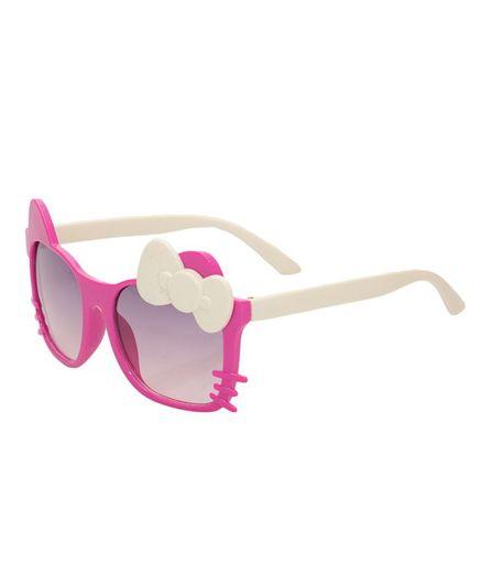 Kidofash Bow Cat Sunglasses - Pink & Cream