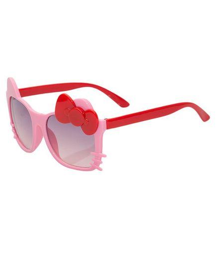 Kidofash Bow Cat Sunglasses - Pink & Red