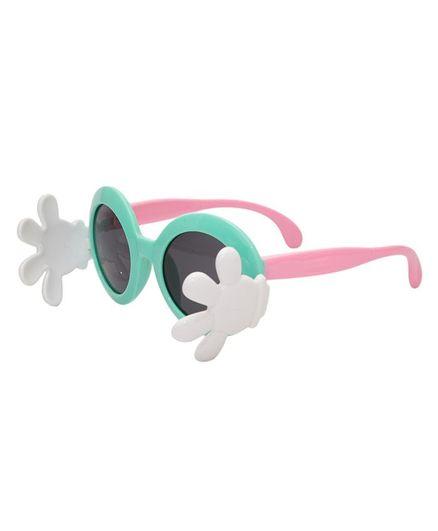 Kidofash Hand Closure Sunglasses - Green