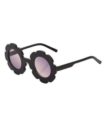 Kidofash Sunflower Design Sunglasses - Black