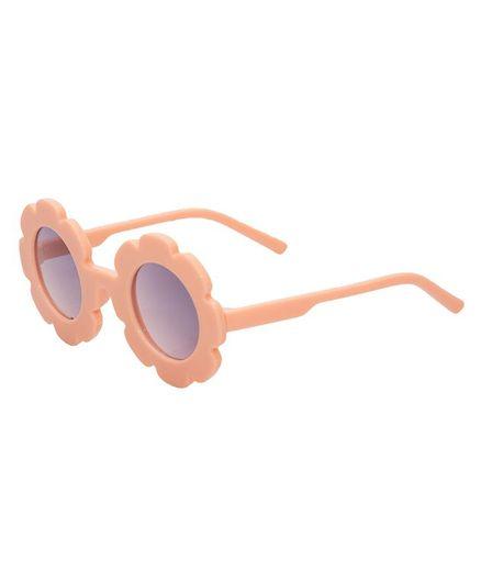 Kidofash Sunflower Design Sunglasses - Peach