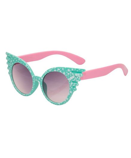 Kidofash Cat Eyes Sunglasses - Green