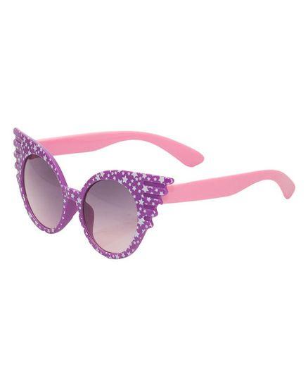 Kidofash Cat Eyes Sunglasses - Purple