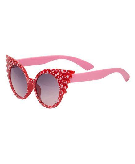 Kidofash Cat Eyes Sunglasses - Red