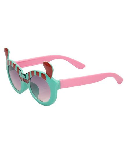 Kidofash Dog Theme Sunglasses - Green
