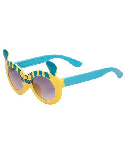 Kidofash Dog Theme Sunglasses - Yellow