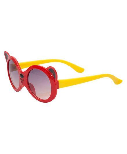 Kidofash Ears Theme Sunglasses - Red