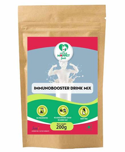 Little Moppet Foods ImmunoBooster Drink Mix - 200 gm