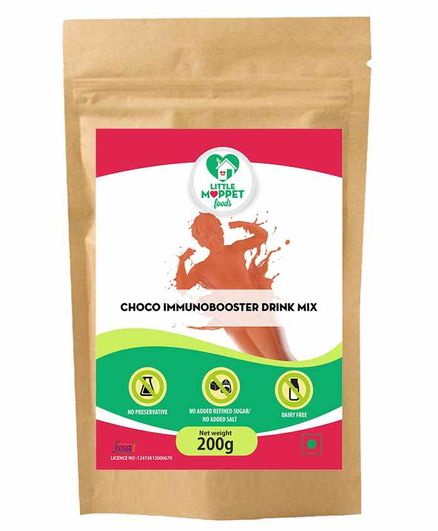 Little Moppet Foods Choco Immuno Booster Drink - 200 gm