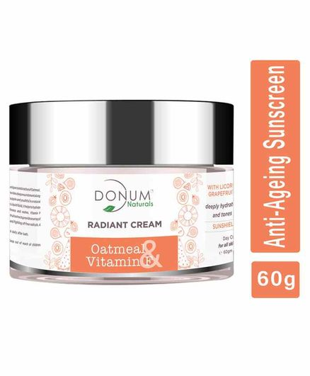 Donum Naturals  5 in 1 Radiant Cream With SPF 15 - 60 grams