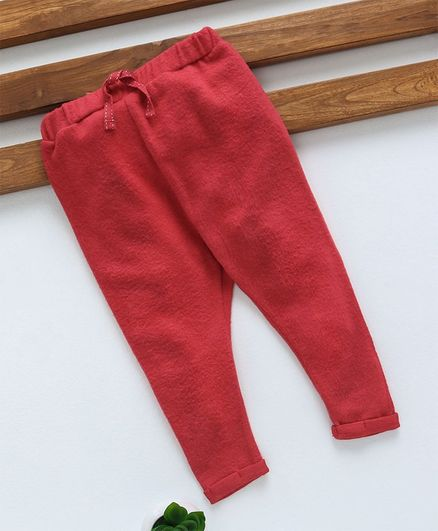 Fox Baby Full Length Lounge Pant - Red