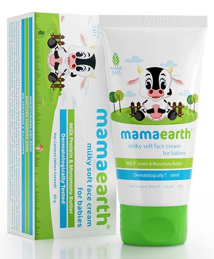mamaearth Milky Soft Baby Face Cream With Muru Muru Butter - 50 ml