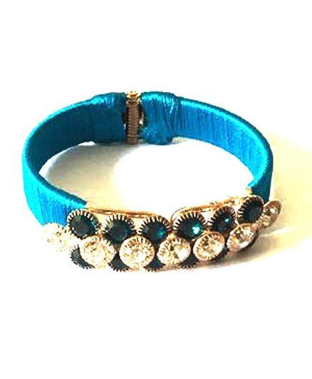 Akinos Kids Stone Work Bracelet - Blue