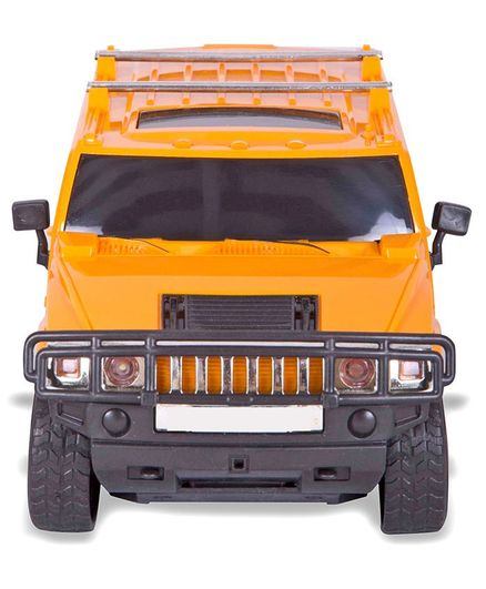 Toys Bhoomi Rechargeable RC Hummer Car - Yellow