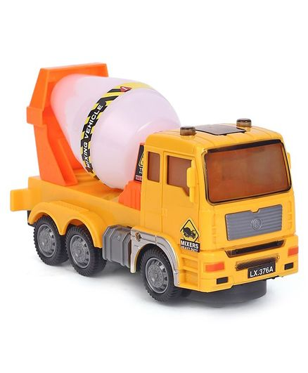 Dr. Toy Flash Electric Mixer Truck - Yellow