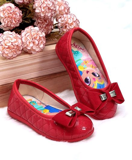 Buy Shimmer   Shine Bellies   Peep Toes RED 9 for Girls (3-4 Years ... 3a4989f8ff0b