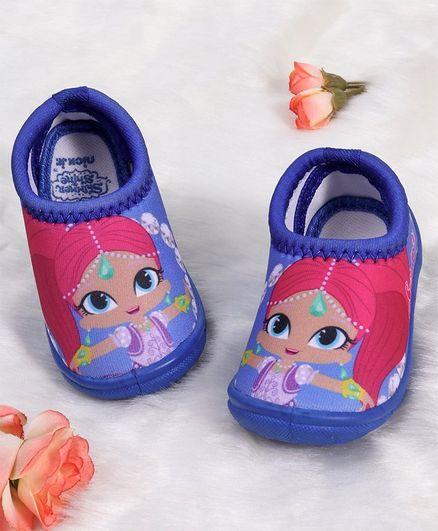 Buy Shimmer   Shine Slip On Style Casual Shoes Blue for Girls (2-3 ... 9cd82ef530b4
