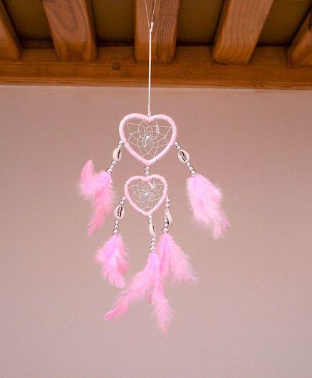 Tipy Tipy Tap Heart Design Dream Catcher - Pink