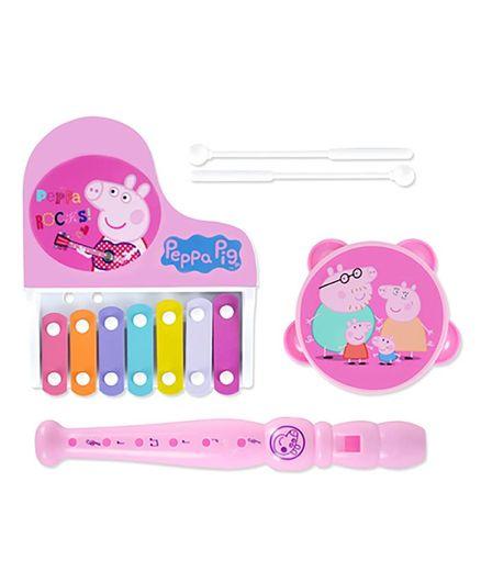 IITL Peppa Pig Musical Instrument Set Pink - Pack of 3
