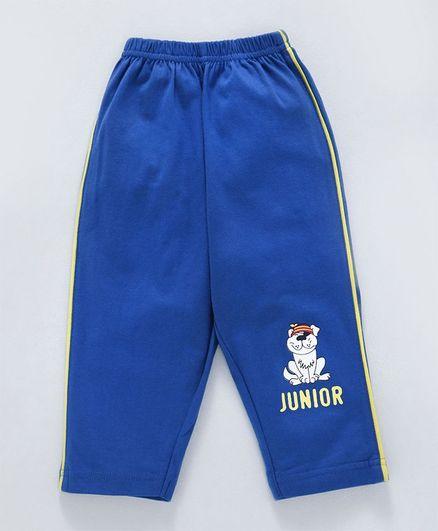 Tango Full Length Track Pant Junior Print - Blue