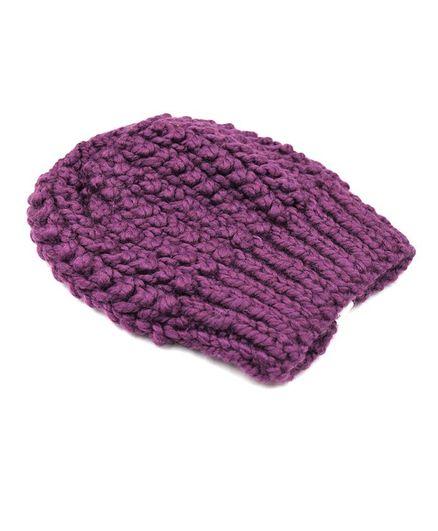 Magic Needles Winter Wear Slouchy Beanie Cap Purple Online in ... 57aa6849c84