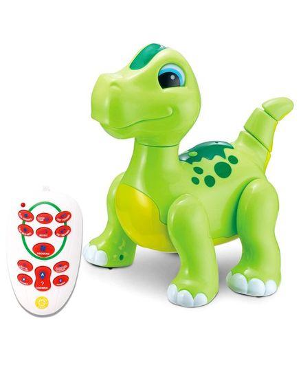 Webby Intelligent Remote Controlled Dinosaur - Green